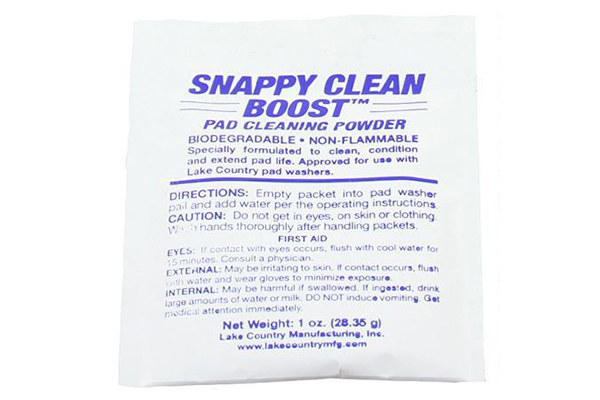 Lake Country Snappy Clean Boost Pad Cleaning Powder 湖国盘片清洁粉 Lake Country Snappy Clean Boost Pad Cleaning Powder 湖国盘片清洁粉