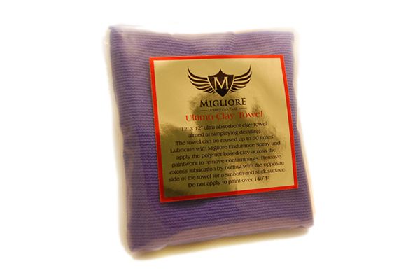 Migliore Ultimo Clay Towel 米格洛瑞终极粘土巾 Migliore Ultimo Clay Towel 米格洛瑞终极粘土巾