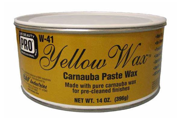 Prowax Yellow Wax Carnauba Paste Wax 专业蜡棕榈黄蜡 Prowax Yellow Wax Carnauba Paste Wax 专业蜡棕榈黄蜡