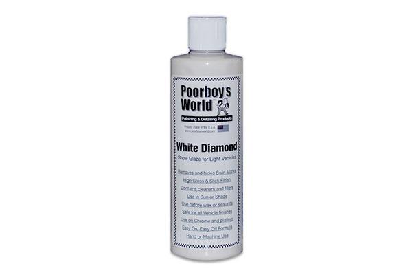 Poorboy's World White Diamond 穷小子白钻盖纹上光剂 Poorboy's World White Diamond 穷小子白钻盖纹上光剂